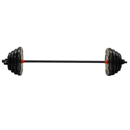 60 lb Barbell Weight Set-Gains Everyday