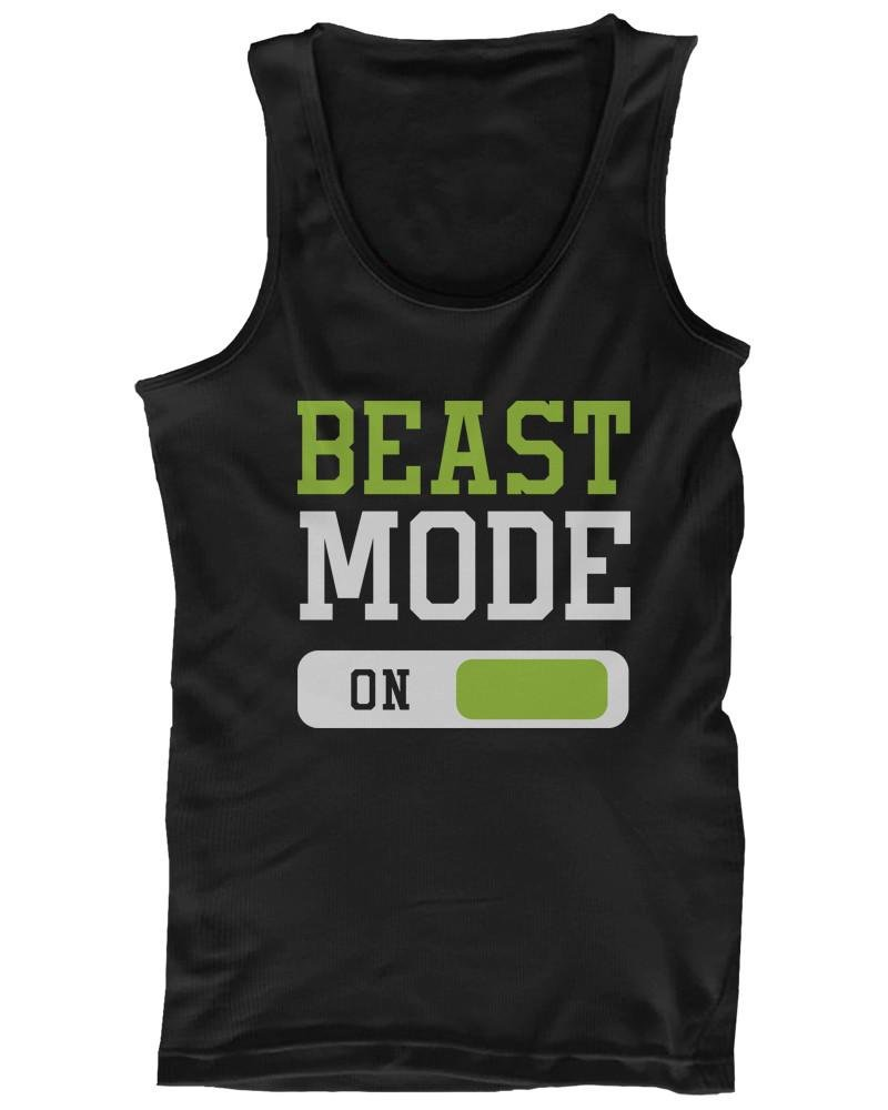 Beast Mode Men's Workout Tanktop-Gains Everyday