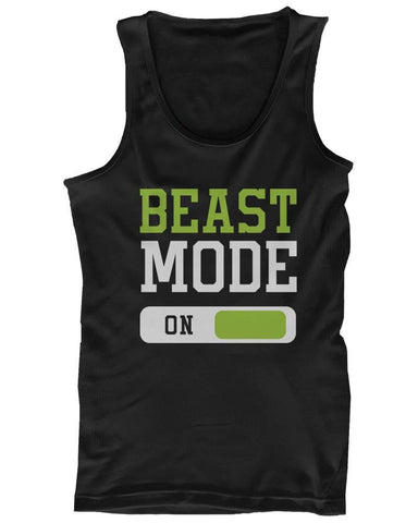 gains-everyday,Beast Mode Men's Workout Tanktop,TSF Design,Men's Fashion - Men's Clothing - Tops & Tees - Tank Tops