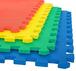 "gains-everyday,Gym Floor Tiles, Interlocking EVA Foam Padding 6 Pack, 24"" X 24"" X 0.5"",Gains Everyday,"