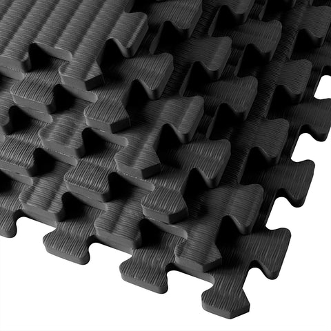 "Gym Floor Tiles, Interlocking EVA Foam Padding 6 Pack, 24"" X 24"" X 0.5"" Gains Everyday - -Gains Everyday"