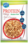 Kay's Naturals Protein Breakfast Cereal, Apple Cinnamon, Gluten-Free, Low Carbs, Low Fat, Diabetes Friendly, (Pack of 6)-Gains Everyday