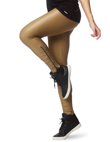 gains-everyday,Legging 230 With Zipper Strass Gold,Vestem,Sports & Entertainment - Sports Clothing - Pants