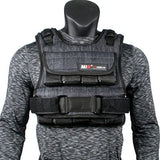gains-everyday,miR Air Flow Weighted Vest with Zipper Option 20lbs - 60lbs,Gains Everyday,