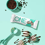 ONE Protein Bars, White Chocolate Truffle, Gluten Free with 20g Protein and only 1g Sugar, Guilt-Free Snacking, 2.12 oz (12 Pack)-Gains Everyday