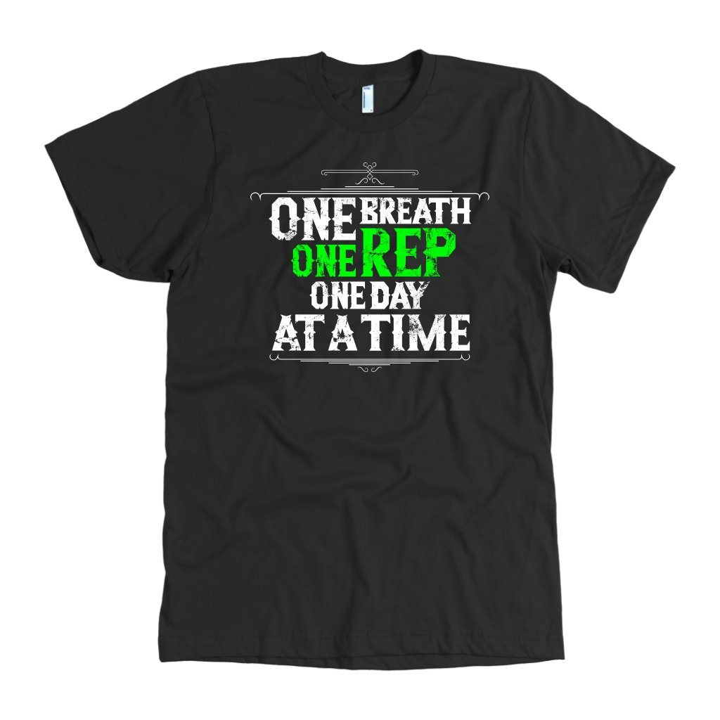 One Rep Motivational Gym Workout T-Shirt-Gains Everyday