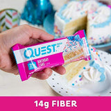 Quest Nutrition Birthday Cake Protein Bar, High Protein, Low Carb, Gluten Free, Keto Friendly, 12 Count-Gains Everyday