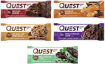 Quest Nutrition Protein Bar Variety Pack 12 Count - Chocolate Lovers-Gains Everyday