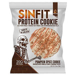 gains-everyday,SINFIT Pumpkin Spice Protein Cookies by Sinister Labs -Soft baked with 20g of protein and only 7g of sugar - gluten free - 2.75 oz cookies (10-count),Sinister Labs,Protein Cookie