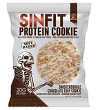 gains-everyday,SINFIT Snickerdoodle Chocolate Chip Protein Cookies  - 20g of protein - gluten free - 2.75 oz cookies (10 soft baked cookies),Sinister Labs,Protein Cookie