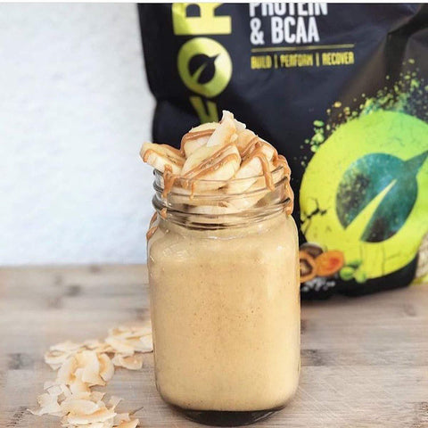 gains-everyday,Vivo Life Perform - Raw Vegan Salted Maca Caramel Protein Powder Blend with BCAA | Gluten & Soy Free Protein (988 Gram),VIVO,Protein Powder