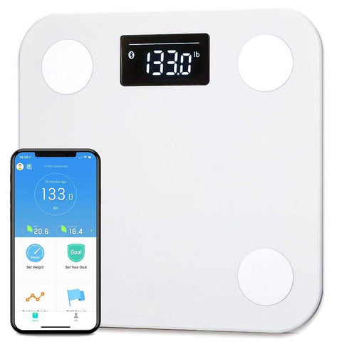 gains-everyday,YUNMAI Smart Scale, Body Fat Scale with Free APP Body Composition BMI Monitor Analyzer with Large Display,YUNMAI,Fitness Gear