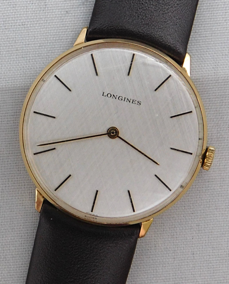 Longines Vintage 1970's Gold Plated Manual Wind 17 Jewel Mens Watch....34mm