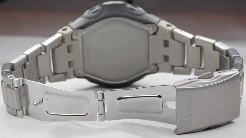 Casio MTGM900DA-8CR G-Shock Digital Solar Atomic Silver SS Mens Watch New....45mm