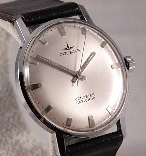 Dugena Jongster Manual Wind SS Vintage 1960's Mens Dress Watch....34mm | The Vintage Outlet