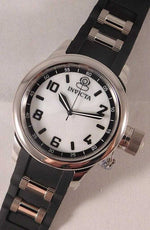 Invicta Russian Diver Quartz Oyster Dial Stainless Steel/Silicone Strap....43mm | The Vintage Outlet