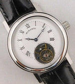 Minorva 1 Minute Real Flying Tourbillon Stainless Steel Mens Watch....39mm | The Vintage Outlet