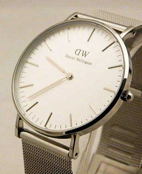 Daniel Wellington Classic Sheffield White Dial Watch 0608DW....New....36mm - Wristwatches