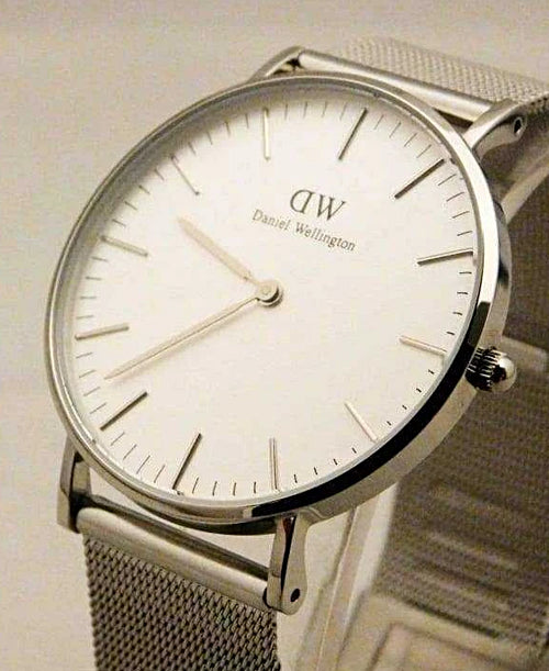 Daniel Wellington Classic Sheffield White Dial Watch 0608DW....New....36mm | The Vintage Outlet