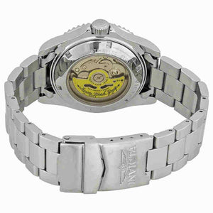 Invicta Pro Diver Automatic Stainless Steel Black Dial Bracelet Watch....40mm