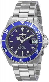Invicta Pro Diver Stainless Steel Blue Dial Automatic Mens Watch....40mm