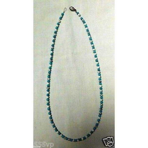 Necklace Turquoise Stones Southwest American Indian Navajo | The Vintage Outlet