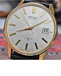 Seiko Automatic Calibre 7005A W/Date Vintage Mens Pre-Owned Watch 1970s....36mm - Wristwatches