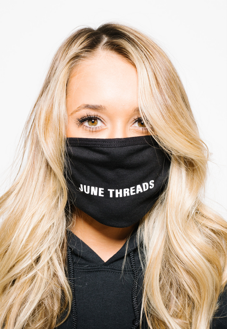 JUNE THREADS FACE MASK