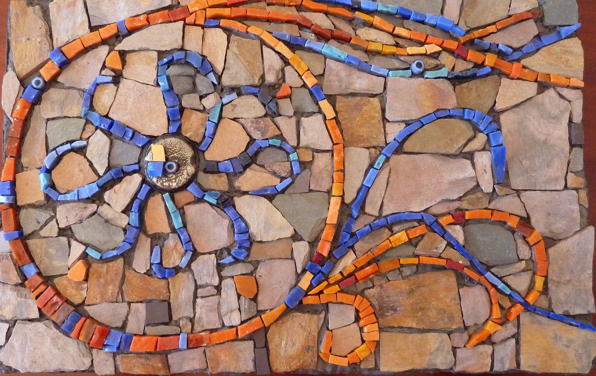 Mosaic Suzanne - WinterCreek Mosaics by Sue Leitch