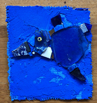 Mosaic - Blue Fish