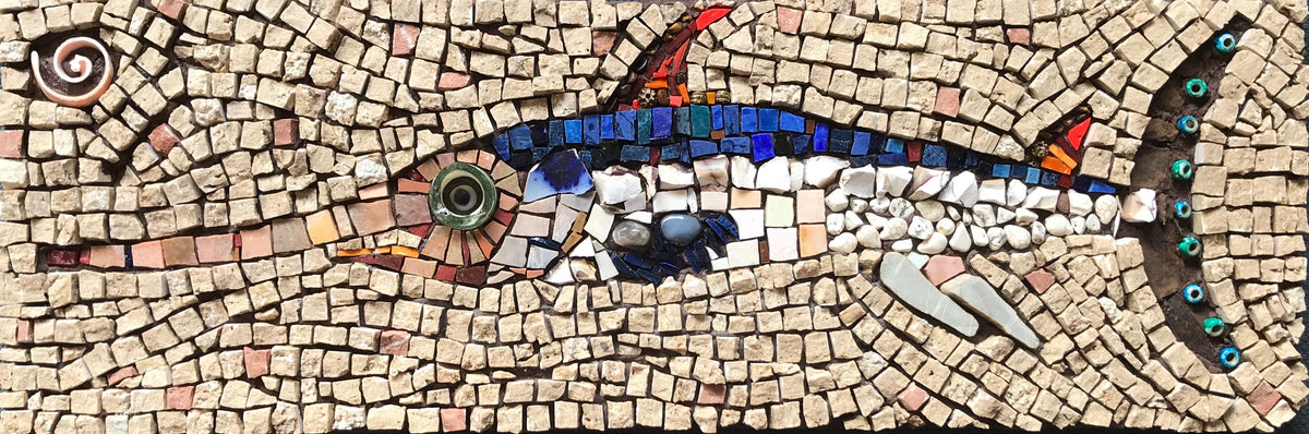 Mosaic fish - Sword fish