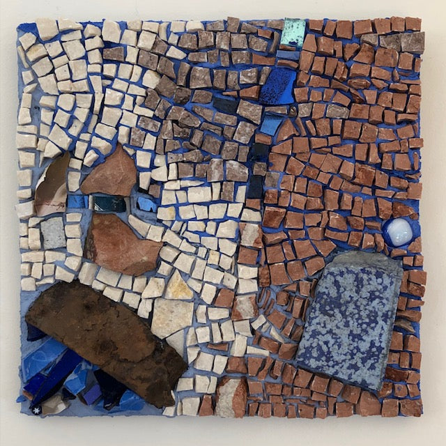 "Mosaic Art - ""The Bundi Blue"""