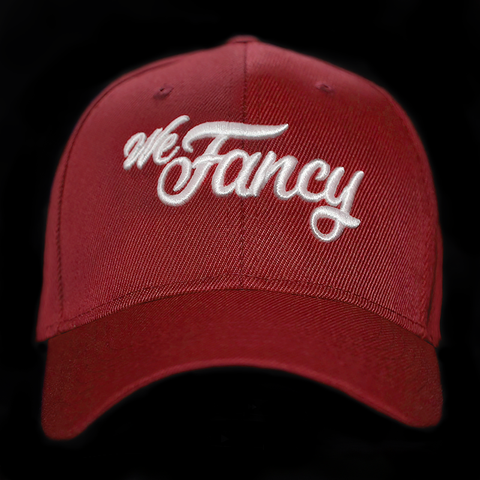 We Fancy Dad Hat (Red)
