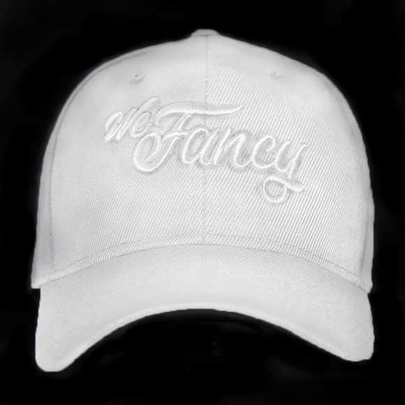 We Fancy Dad Hat (Whiteout)