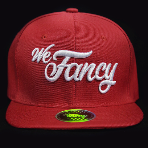We Fancy Snapback (Red)