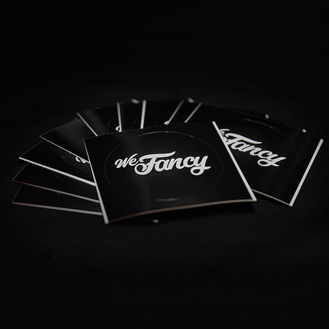 We Fancy Sticker (10 pack)