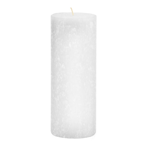 AT49W: WHITE ADVENT PILLAR, 4 X 9 [EACH]