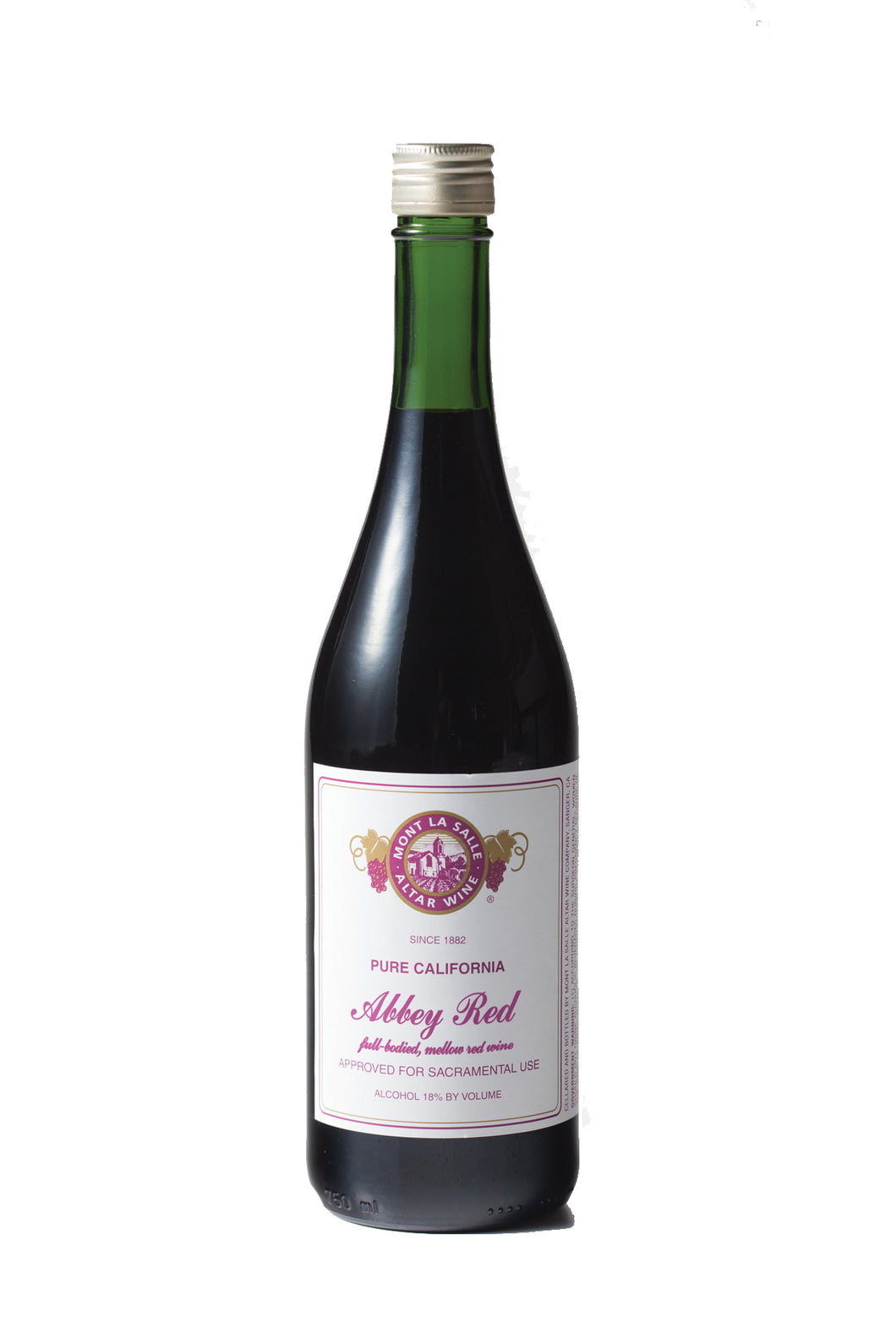 AMBURG - Mont La Salle Abbey Red Wine [12 (750ml) Bottles Per Case]