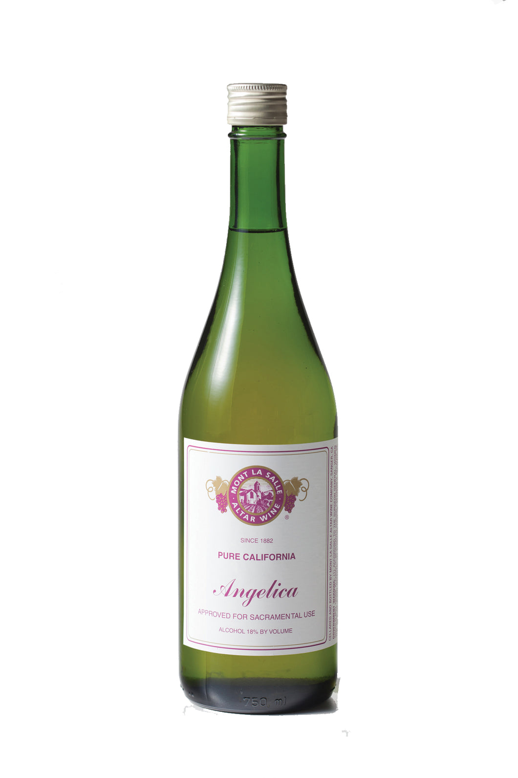 AMANGE: Mont La Salle Angelica Wine [12 (750ml) Bottles Per Case]