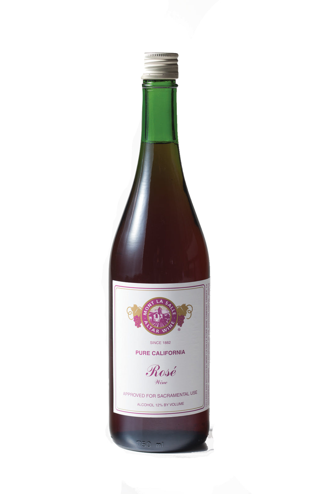 AMROSE: Mont La Salle Rose Wine [12 (750ml) Bottles Per Case]