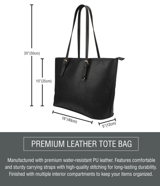 Small Leather Tote Sizing Chart