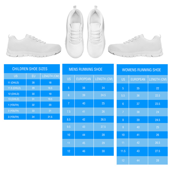 Sneakers Size Chart