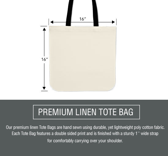 Canvas Tote Bag Sizing Chart