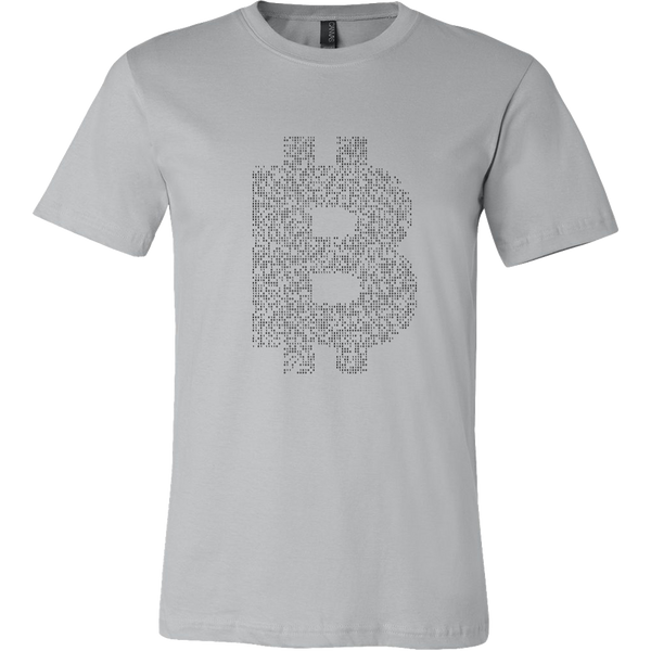 Bitcoin Binary Logo Short Sleeve Shirt-Leggy Me
