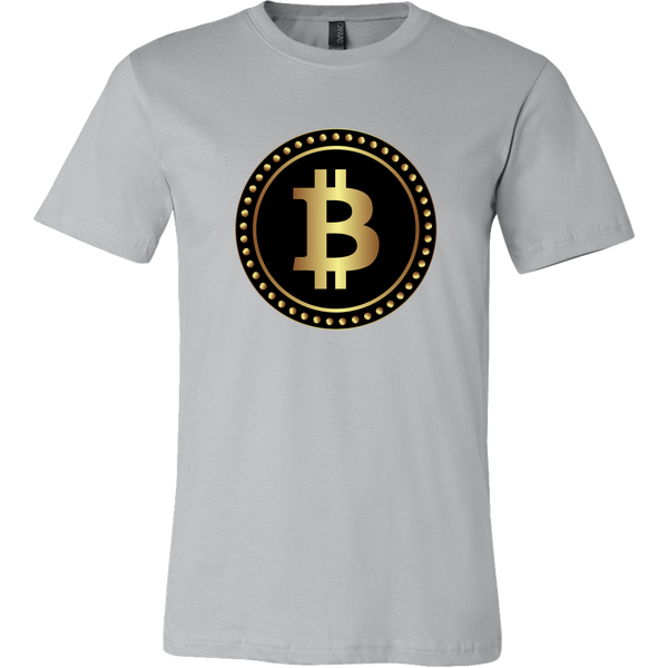 Bitcoin Black Ring Short Sleeve Shirt-Leggy Me