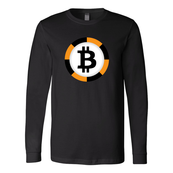 Bitcoin Chip Long Sleeve Shirt-Leggy Me