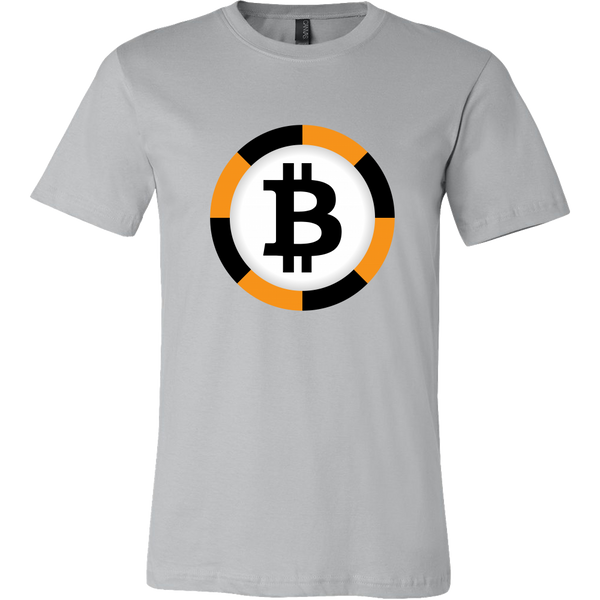 Bitcoin Chip Short Sleeve Shirt-Leggy Me