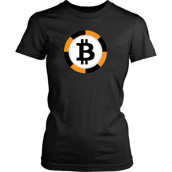 Bitcoin Chip Womens Shirt-Leggy Me