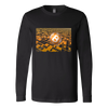 Bitcoin Floating Ball Long Sleeve Shirt-Leggy Me