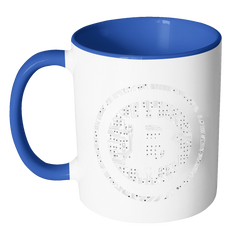 Bitcoin Soldered Circuits Accent Mug-Leggy Me